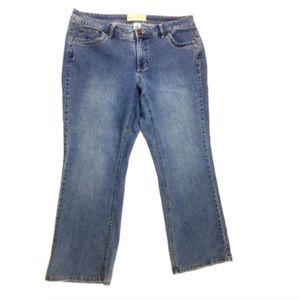 JMS Jeans Plus Size 20W Average Stretch Bootcut